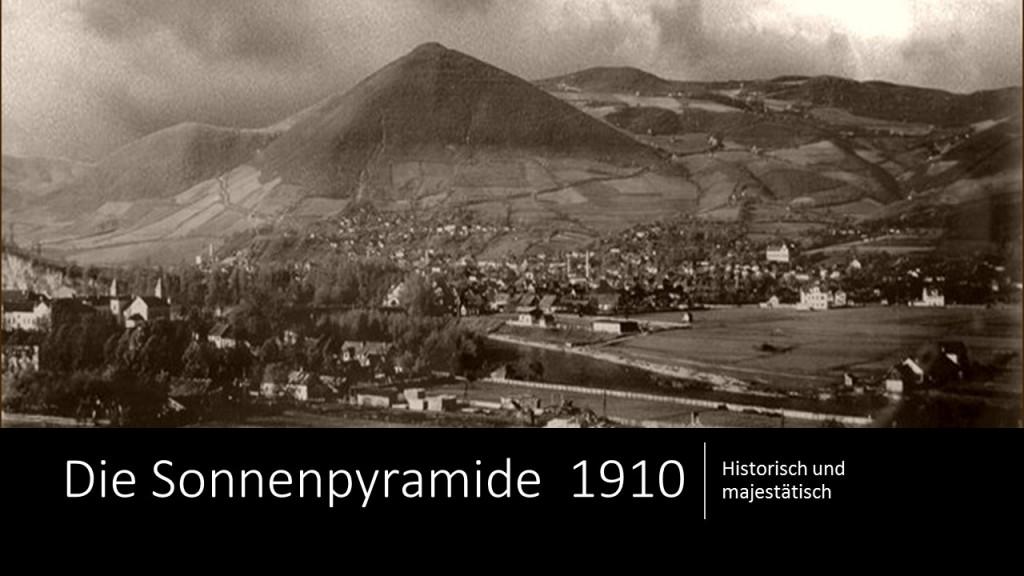 Die Sonnenpyramide  1910